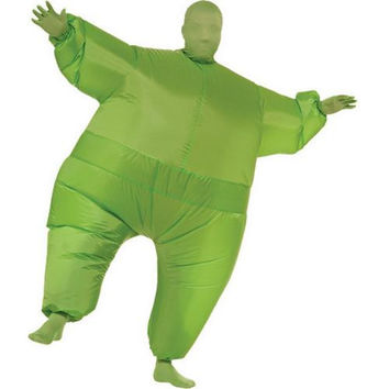 Costume Morphsuit: Inflatable Skin Suit - Green