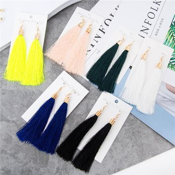 Simple Tassel Earrings