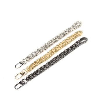 THINKTHENDO Replacement Wrist Strap Clutch Wristlet Purse Coin Bag Chain Accessories Bag parts