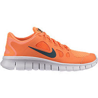 The Nike Free 5.0 LE (3.5y-7y) Boys' Running Shoe.