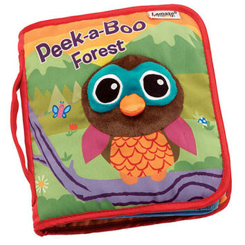 Lamaze Peek-a-Boo Forest Flap Book
