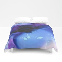 Ajna Duvet Cover by duckyb