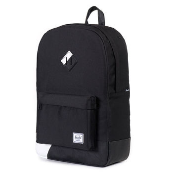 Herschel Supply Co.: Heritage Backpack - Black / White Print