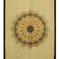 Sunshine Joy® Indian Mandala Tapestry - 60x90 Inches - Hippie Dorm Decor - Beach Sheet - Hanging Wall Art