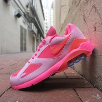 BC SPBEST COMME des GARCONS X Nike Air Max 180 - Lacer Pink/Solar Red/Pink Rise #AO4641-602