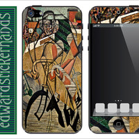 Cubist Cycling iPhone Skin