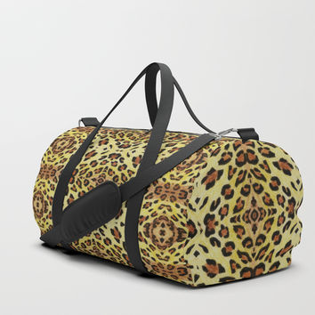 Leopard print Duffle Bag by Savousepate