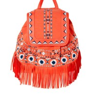 ASOS | ASOS Fringe Detail Backpack at ASOS
