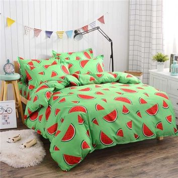 New Family Kids Bed Linens 100%Cotton High Quality The Farmhouse Style Bedding Set For 1or2 Person Duvet Cover