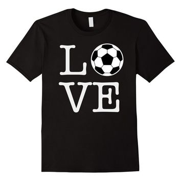 Love Football Soccer Ball T-shirt
