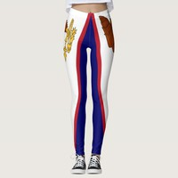 Leggings with flag of American Samoa, USA