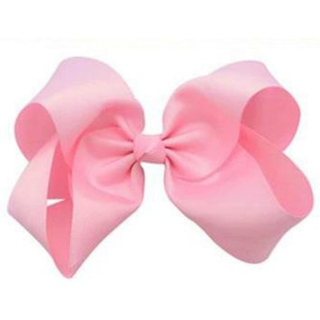 Grosgrain Boutique Hairbow, Pink