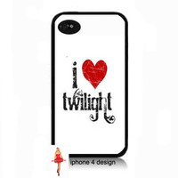 Twilight Design Iphone 4/4s case, Iphone case, Iphone 4s case, Iphone 4 cover, i phone case, i phone 4s case