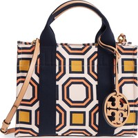 Tory Burch Mini Print Canvas Tote | Nordstrom