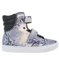 Laser Python Hi Top Trainers