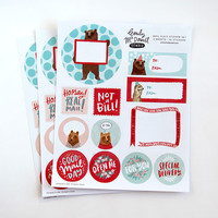 Everyday Mail Flair Sticker Sheets