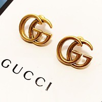GUCCI Hot Sale Women Classic Simple Earrings Jewelry Accessories