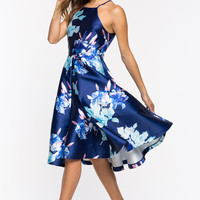 Genevieve Floral Midi Dress