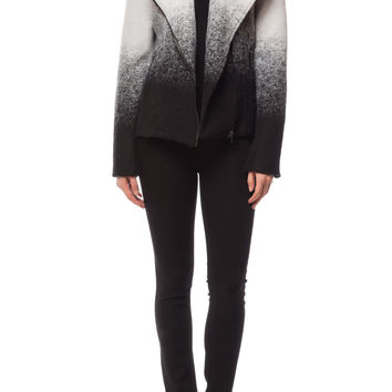 'Bell' Ombre Moto Jacket