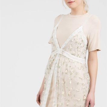 Walking In Wildflowers 2PC Midi Dress