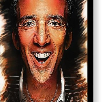 Nic Cage - Caricature Canvas Print