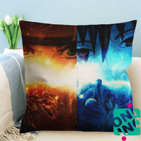 Uchiha Sasuke Naruto Shippuden Zippered Pillow Case, Cushion Case, Pillow case