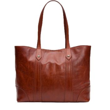 Frye Melissa Shopper Bag Red Clay