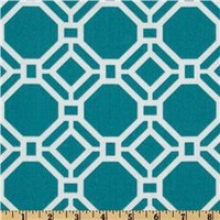 Swavelle/Mill Creek Indoor/Outdoor Rossmere Caribbean - Discount Designer Fabric -  Fabric.com