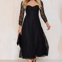Line & Dot Amelie Lace Dress