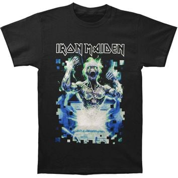 Iron Maiden Men's  Speed Of Light T-shirt Black