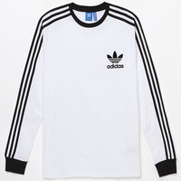 adidas California White Long Sleeve T-Shirt at PacSun.com