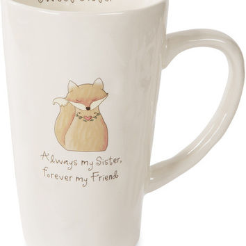 Always my Sister, forever my Friend Latte Mug