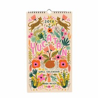 2018 Rifle Paper Co. Yucatan Wall Calendar