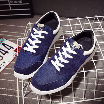 Mens Denim Style Sneakers