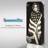 Marina and The Diamonds old photo electra heart lana del rey for Smartphone Case