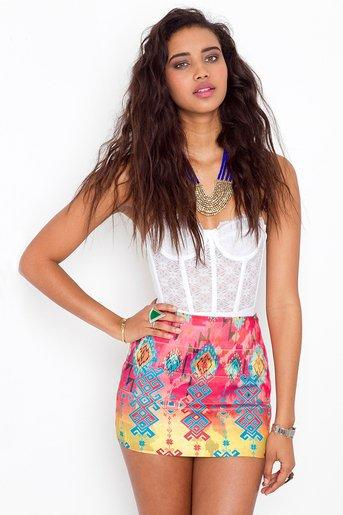 Tribal Bandage Skirt in  Clothes at Nasty Gal