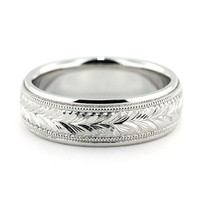 Men's Wedding Band - Oliver