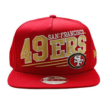 49ers / Niners Classic Snapback Red Gold