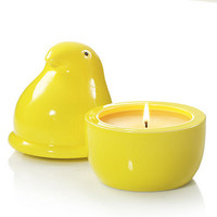 Ceramic Peeps® Marshmallow Chicks Fillable Candle : Fillable Candles : Yankee Candle