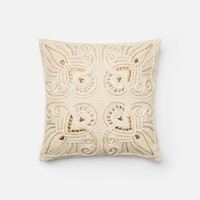 Loloi Beige Decorative Throw Pillow (P0298)