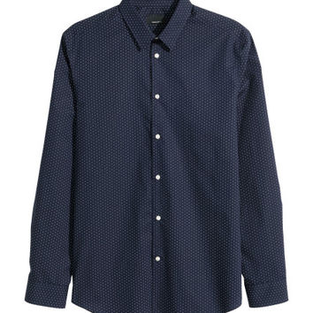 Premium Cotton Shirt - from H&M