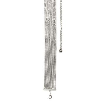 Waisted Silver Chain Belt