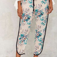 Damaris Floral Jogger Pants