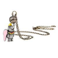 Disney Dumbo Spinning Ball Necklace