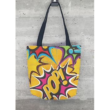 COMIC POP ART TOTE