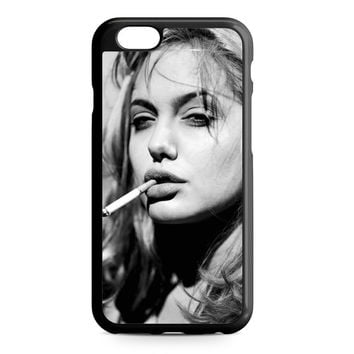 Angelina Jolie Smoking iPhone 6 case