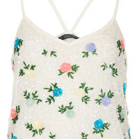 Bright Flower Cami Top - New In This Week  - New In