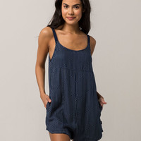 RVCA Jurys Out Womens Romper