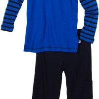 Splendid Littles Little Boys' Venice Thermal Stripe Shirt Set