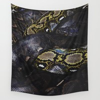 SSSNAKE Wall Tapestry by glxmkat